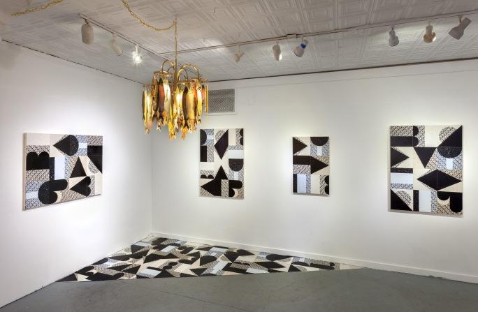 Yaddah Yaddah Yaddah (installation shot), room dimensions 34' x 25' x 10', mixed media, 2019.