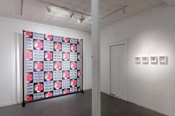 "Yaddah Backdrop, 84"" x 84"", digital print on fabric, 2019."